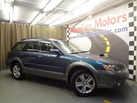 2005 Subaru Outback for sale at Premium Motors in Villa Park IL