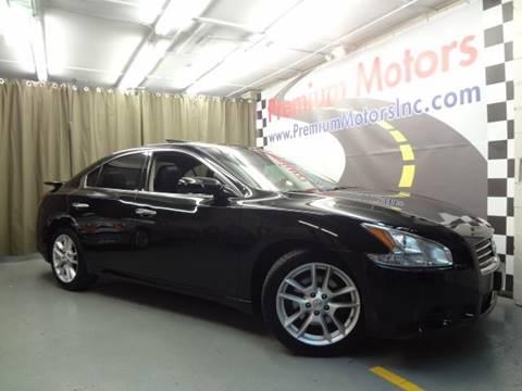 2009 Nissan Maxima for sale at Premium Motors in Villa Park IL