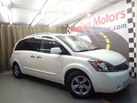2008 Nissan Quest for sale at Premium Motors in Villa Park IL