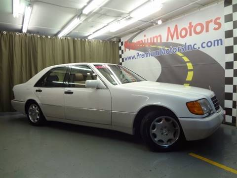 1994 Mercedes-Benz S-Class for sale at Premium Motors in Villa Park IL