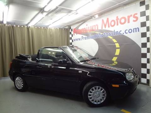 2001 Volkswagen Cabrio for sale at Premium Motors in Villa Park IL
