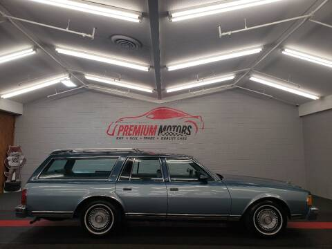 1978 Chevrolet Caprice for sale at Premium Motors in Villa Park IL