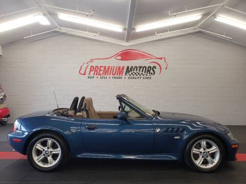 2000 BMW Z3 for sale at Premium Motors in Villa Park IL