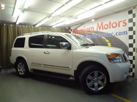 2010 Nissan Armada for sale at Premium Motors in Villa Park IL