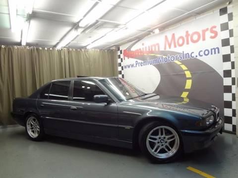 2001 BMW 7 Series for sale at Premium Motors in Villa Park IL