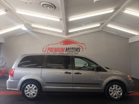 2013 Dodge Grand Caravan for sale at Premium Motors in Villa Park IL