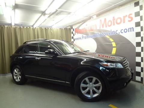 2004 Infiniti FX35 for sale at Premium Motors in Villa Park IL
