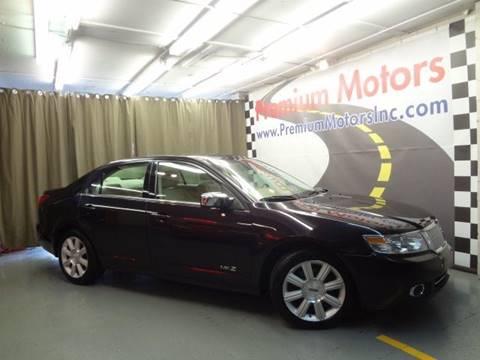 2007 Lincoln MKZ for sale at Premium Motors in Villa Park IL