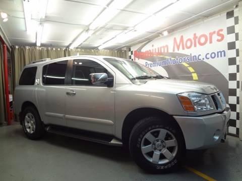 2004 Nissan Armada for sale at Premium Motors in Villa Park IL