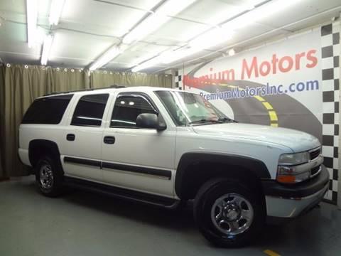 2003 Chevrolet Suburban for sale at Premium Motors in Villa Park IL
