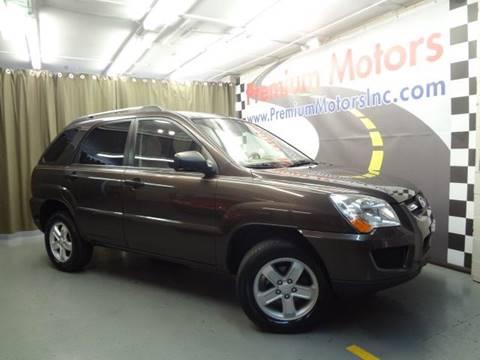 2009 Kia Sportage for sale at Premium Motors in Villa Park IL