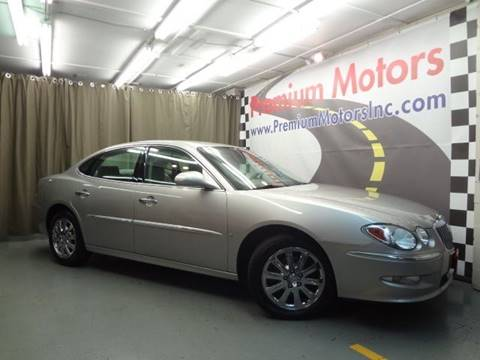 2008 Buick LaCrosse for sale at Premium Motors in Villa Park IL