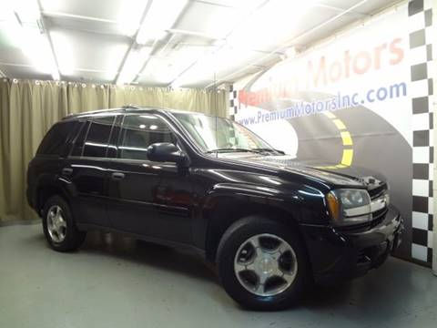 2008 Chevrolet TrailBlazer for sale at Premium Motors in Villa Park IL