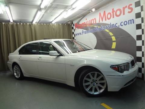 2004 BMW 7 Series for sale at Premium Motors in Villa Park IL