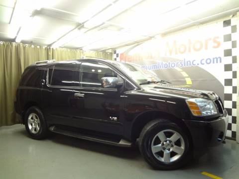 2006 Nissan Armada for sale at Premium Motors in Villa Park IL