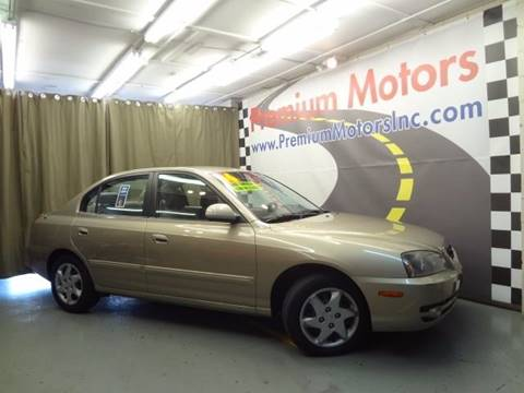 2006 Hyundai Elantra for sale at Premium Motors in Villa Park IL