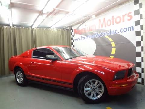 2007 Ford Mustang for sale at Premium Motors in Villa Park IL
