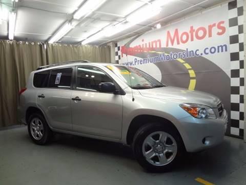 2007 Toyota RAV4 for sale at Premium Motors in Villa Park IL