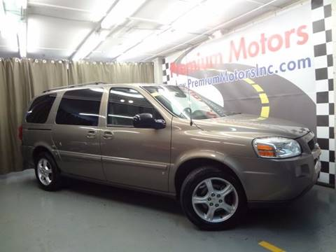 2006 Chevrolet Uplander for sale at Premium Motors in Villa Park IL