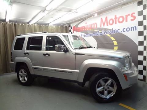2008 Jeep Liberty for sale at Premium Motors in Villa Park IL