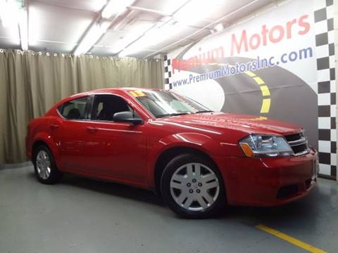 2013 Dodge Avenger for sale at Premium Motors in Villa Park IL