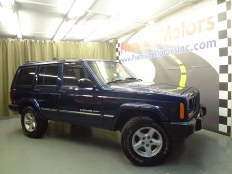 2001 Jeep Cherokee for sale at Premium Motors in Villa Park IL