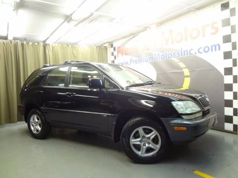 2003 Lexus RX 300 for sale at Premium Motors in Villa Park IL