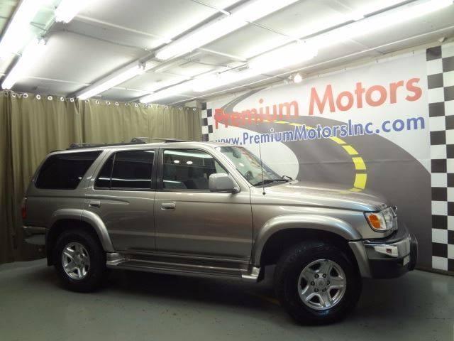 2002 Toyota 4Runner for sale at Premium Motors in Villa Park IL