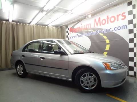 2002 Honda Civic for sale at Premium Motors in Villa Park IL