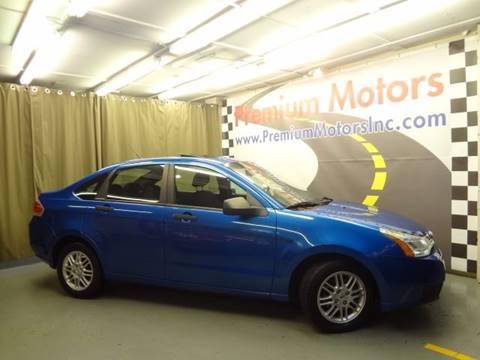 2010 Ford Focus for sale at Premium Motors in Villa Park IL