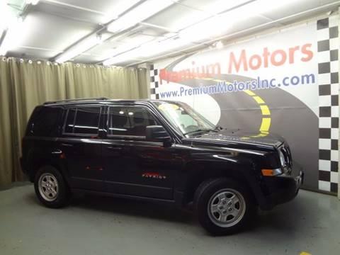 2012 Jeep Patriot for sale at Premium Motors in Villa Park IL