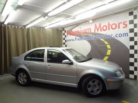 2002 Volkswagen Jetta for sale at Premium Motors in Villa Park IL