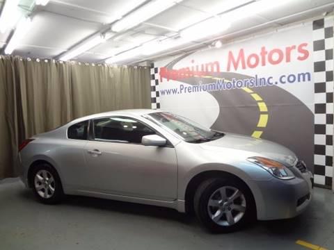 2008 Nissan Altima for sale at Premium Motors in Villa Park IL