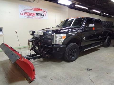 2011 Ford F-250 Super Duty for sale at Premium Motors in Villa Park IL