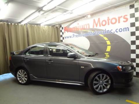 2009 Mitsubishi Lancer for sale at Premium Motors in Villa Park IL