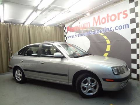2002 Hyundai Elantra for sale at Premium Motors in Villa Park IL