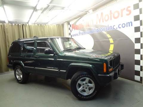2001 Jeep Cherokee for sale at Premium Motors in Villa Park IL