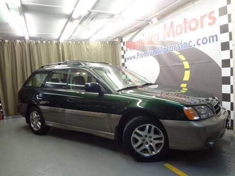 2003 Subaru Outback for sale at Premium Motors in Villa Park IL