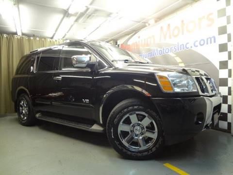 2007 Nissan Armada for sale at Premium Motors in Villa Park IL