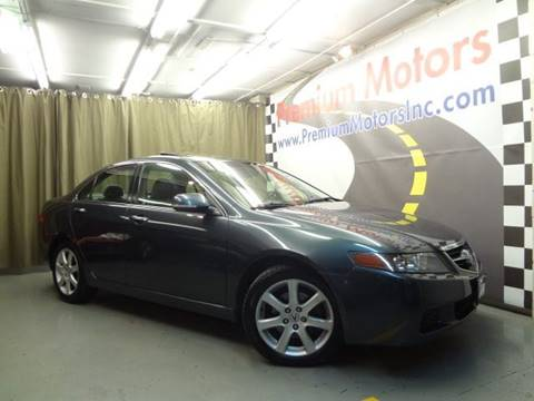 2004 Acura TSX for sale at Premium Motors in Villa Park IL