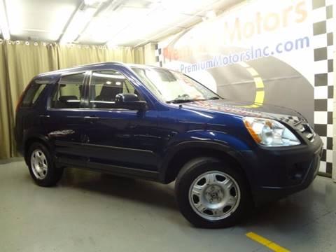 2005 Honda CR-V for sale at Premium Motors in Villa Park IL