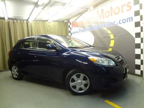 2010 Toyota Matrix for sale at Premium Motors in Villa Park IL