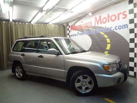 2001 Subaru Forester for sale at Premium Motors in Villa Park IL