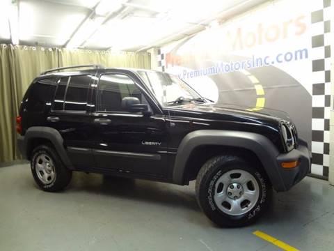 2004 Jeep Liberty for sale at Premium Motors in Villa Park IL
