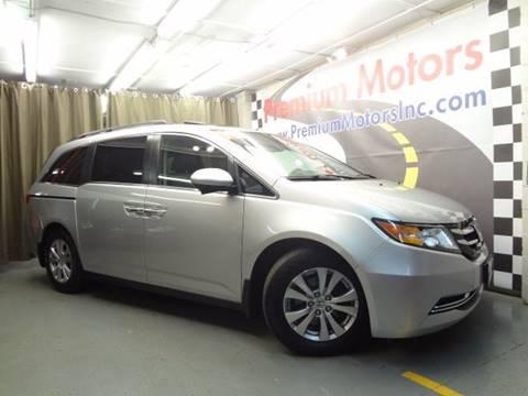 2014 Honda Odyssey for sale at Premium Motors in Villa Park IL