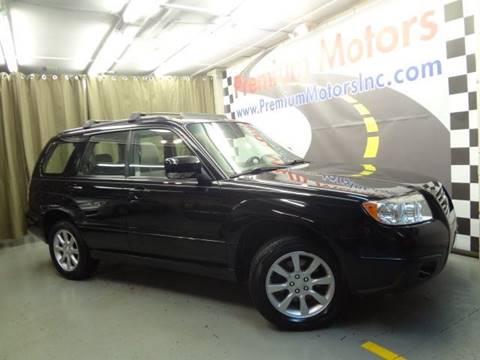 2008 Subaru Forester for sale at Premium Motors in Villa Park IL