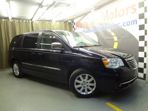 2011 Chrysler Town and Country for sale at Premium Motors in Villa Park IL