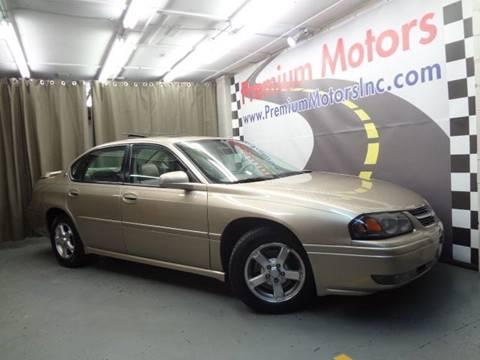 2005 Chevrolet Impala for sale at Premium Motors in Villa Park IL