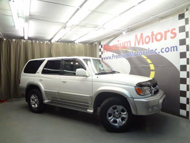 2001 Toyota 4Runner for sale at Premium Motors in Villa Park IL