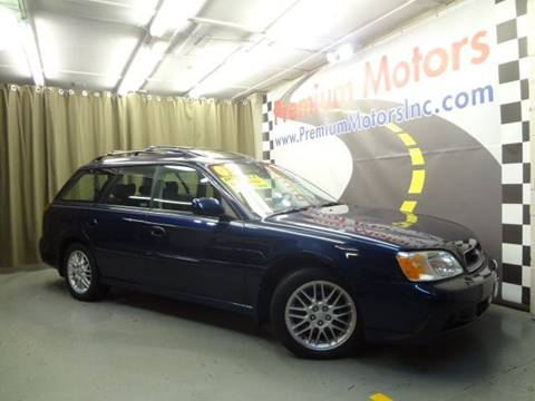 2003 Subaru Legacy for sale at Premium Motors in Villa Park IL
